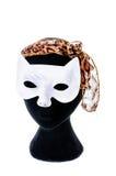 Белая маска Стоковые Изображения RF