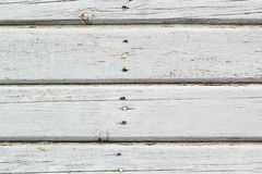 Белая металлическая пластинка стены старого амбара Текстурированный и слезающ белое PA Стоковые Фотографии RF