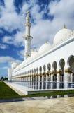 Белая мечеть Стоковые Фотографии RF