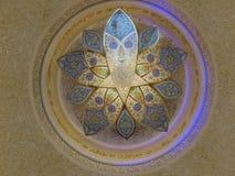 Белая мечеть Стоковая Фотография