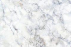 Белая мраморная текстура, картина для предпосылки обоев плитки кожи роскошной Стоковые Фотографии RF
