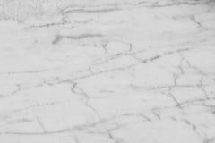 Белая мраморная текстура Стоковые Изображения RF