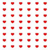 Белая открытка влюбленности Бесплатная Иллюстрация