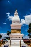 Белая пагода в Таиланде Стоковая Фотография RF
