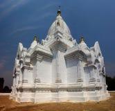 Белая пагода в Bagan стоковые фотографии rf