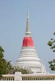 Белая пагода Стоковые Фотографии RF