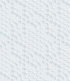Белая пефорированная бумага Стоковые Изображения RF