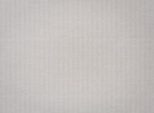 Белая предпосылка гофрированной бумаги Стоковая Фотография