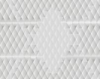 Белая предпосылка диаманта Стоковая Фотография