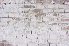 Белая предпосылка кирпича Фасад дома, загородки, стены  Стоковое фото RF