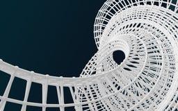 Белая предпосылка конспекта структуры Стоковая Фотография