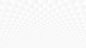 Белая предпосылка конспекта Geomerty Стоковые Изображения RF