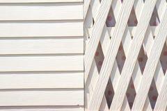 Белая предпосылка стены Стоковая Фотография RF