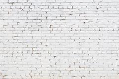Белая предпосылка текстуры кирпича Стоковые Фотографии RF