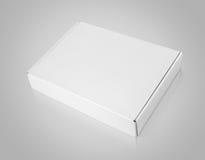 Белая пустая коробка коробки Стоковое Фото