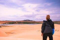 Белая пустыня на Ne Mui Стоковая Фотография RF