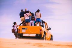 Белая пустыня на Ne Mui Стоковые Фотографии RF