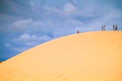Белая пустыня на Ne Mui Стоковое Изображение RF