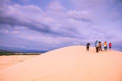Белая пустыня на Ne Mui Стоковое Изображение
