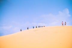 Белая пустыня на Ne Mui Стоковые Изображения