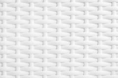 Белая плетеная текстура Стоковое Фото