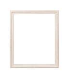 Белая рамка изолированная на белой предпосылке Стоковые Изображения