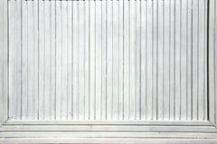 Белая древесина всходит на борт панели рекламы Стоковые Изображения RF