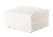 Белая салфетка квадратного бара Стоковые Фотографии RF
