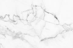 Белая серая мраморная текстура, детальная структура мрамора в естественном сделанном по образцу для предпосылки и дизайн Стоковая Фотография