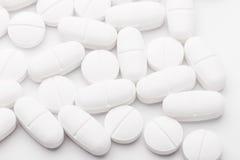 Белая смешивая медицина Стоковое Фото