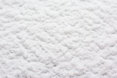 Белая снежная предпосылка, текстура снега, Стоковые Изображения RF