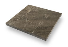 Белая специальная мраморная поверхность Стоковое Изображение