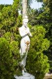 Белая статуя ангела Стоковая Фотография