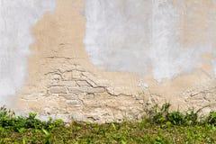 Белая стена гипсолита Стоковое Фото