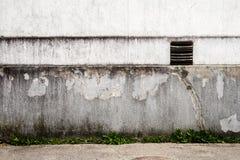 Белая стена гипсолита Стоковые Фотографии RF