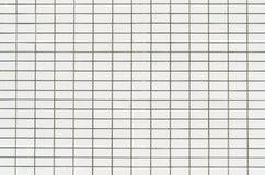 Белая стена плитки Стоковая Фотография RF