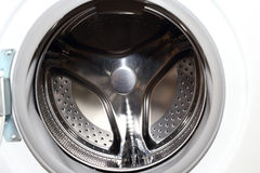 Белая стиральная машина для домашнего хозяйства Стоковые Изображения RF