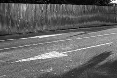 Белая стрелка Стоковая Фотография RF