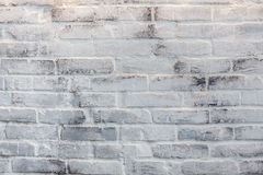 Белая текстура кирпича Стоковое Фото