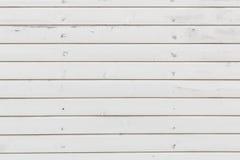 Белая текстура планок Стоковые Фото