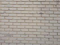 Белая текстура стены кирпичей Брайна Стоковое Фото
