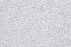 Белая текстура сшитой ткани Стоковое Изображение