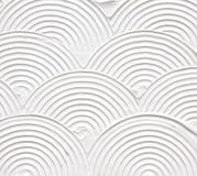 Белая текстурированная акриловая картина Стоковое Изображение