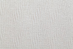 Белая текстурированная ребристая стена Стоковые Фото
