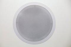 Белая тональнозвуковая акустическая система Стоковые Фото