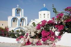 Греческая церковь стоковое фото rf