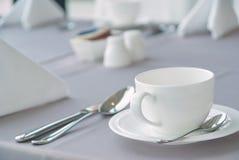 Белая чашка 1 Стоковые Изображения RF