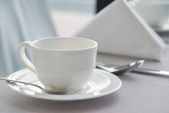 Белая чашка 1 Стоковое фото RF