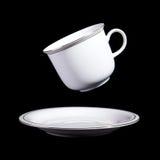 Белая чашка Стоковые Фото