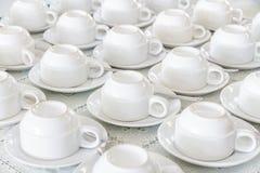 Белая чашка Стоковые Изображения